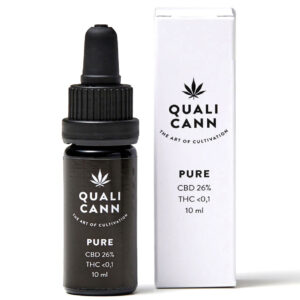 Qualicann CBD Öl Pure 26% - 10ml