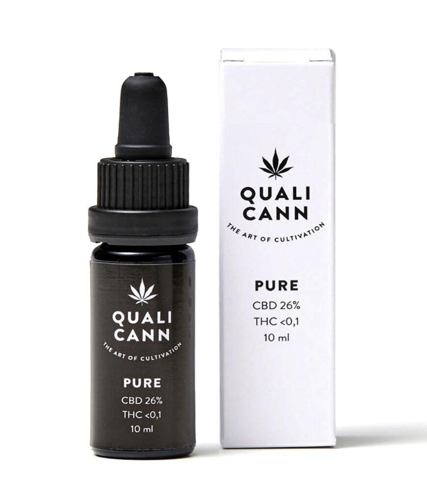 Qualicann CBD Öl Pure 26% - 10ml