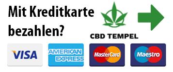 CBD mit Kreditkarte bezahlen