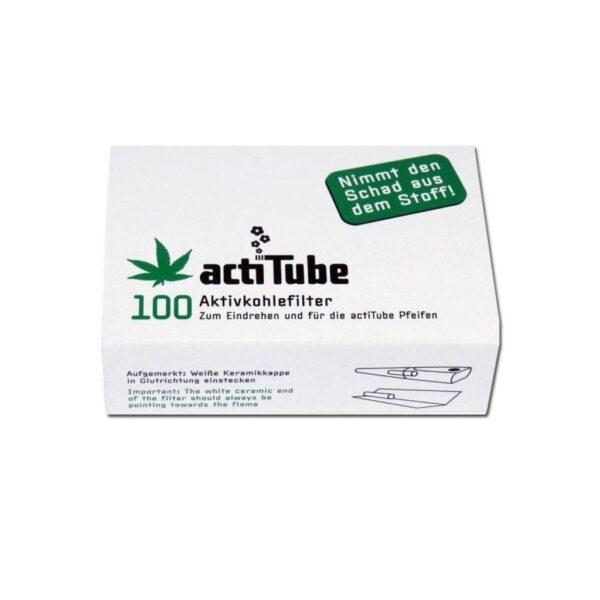 Actitube Aktivkohlefilter 100 Stück
