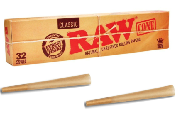 Raw King Size Cones 32 Stk.